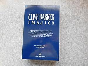 IMAJICA ( Pristine Signed Uncorrected Proof Copy: Barker, Clive