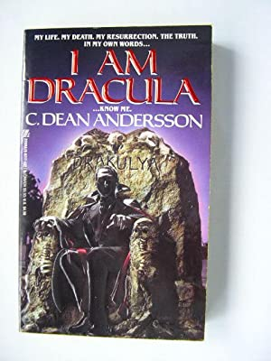 I AM DRACULA (Pristine First Edition): Andersson, C. Dean