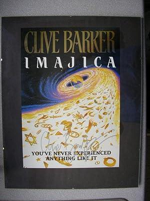 IMAJICA (Pristine Signed Poster of the Book's: Barker, Clive