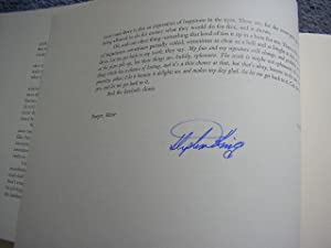 LORD JOHN SIGNATURES ( Immaculate Copy with: King, Stephen (Introducer)