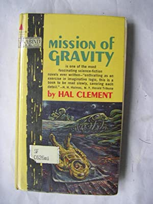 MISSION OF GRAVITY (Signed Ex-Library Hardcover): Clement, Hal