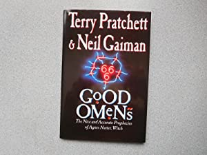 GOOD OMENS (Immaculate Partial Uncorrected Proof Signed: Pratchett, Terry &