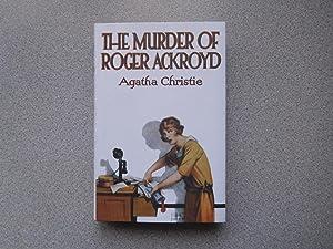 THE MURDER OF ROGER ACKROYD (Pristine Copy): Christie, Agatha