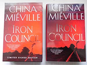IRON COUNCIL (Pristine Signed Numbered Slipcased Edition): Mieville, China