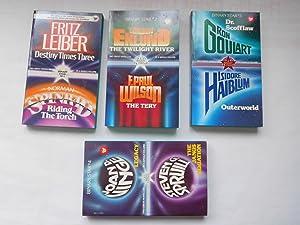 BINARY STARS 1,2,3,4: DESTINY TIMES THREE, RIDING: Fritz Leiber, Norman
