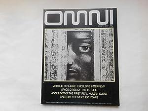 OMNI, Volume 1, Issue 6, ,March 1979: Bob Guccione (Editor)