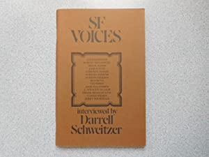 SF VOICES (Very Fine Signed First Edition): Schweitzer, Darrell (