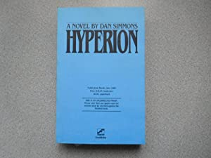 HYPERION: Pristine Signed & Inscribed Uncorrected Proof: Simmons, Dan