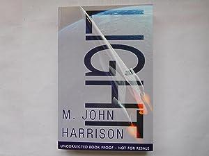 LIGHT ( Pristine Uncorrected Proof ): Harrison, M. John