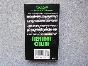 DEMONIC COLOR (Pristine Signed, Dated & Doodled Copy): Dunn, Pauline (aka Dawn Pauline Hartzell...
