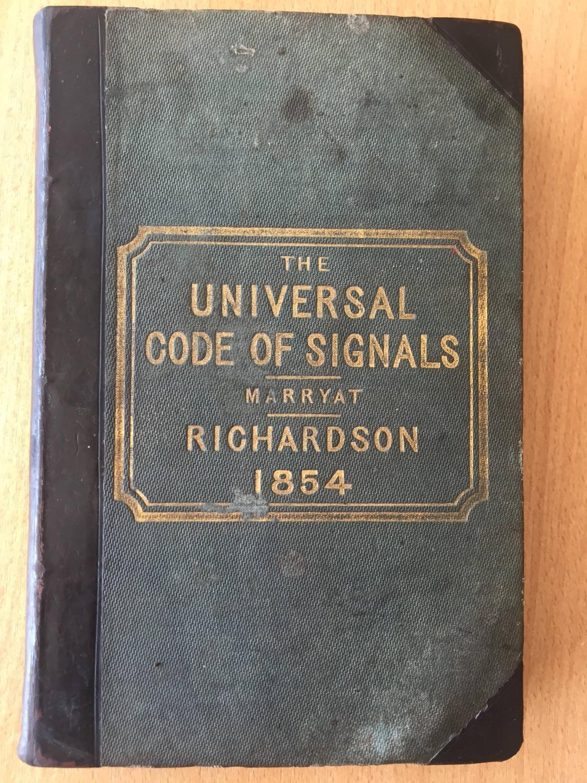 תוצאת תמונה עבור marryat code of signals