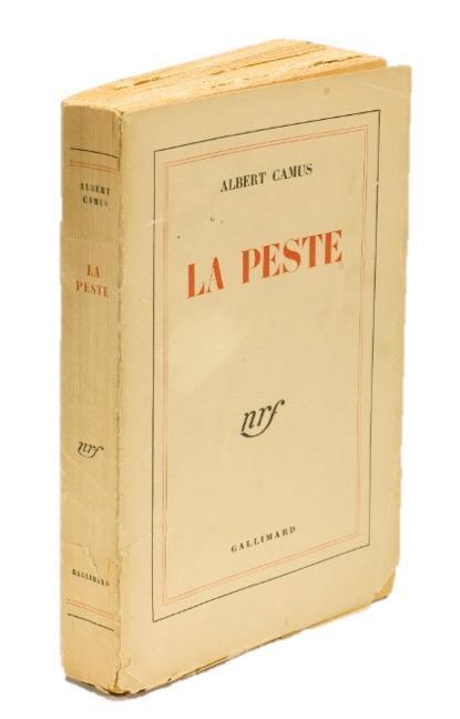 La Peste (Inscribed by Camus) Camus, Albert