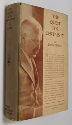 john dewey the quest for certainty