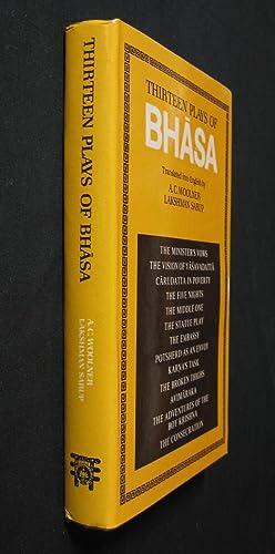 Thirteen Plays of Bhasa: Woolner, Alred C.