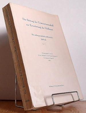 Der Beitrag der Geisteswissenschaft zur Erweiterung der Heilkunst. Ein ...