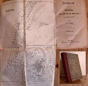 Jerusalem. Beschreibung meiner Reise nach dem heiligen Lande im Jahre 1858. Von F. N. Lorenzen ...