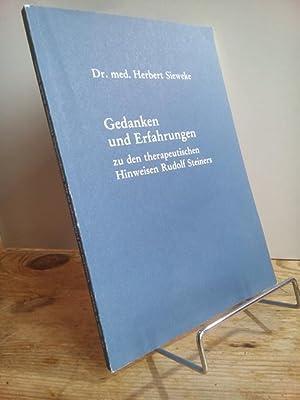 Gedanken und Erfahrungen zu den therapeutischen Hinweisen: Sieweke, Herbert: