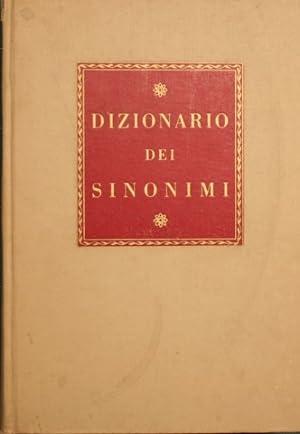 Dizionario dei sinonimi della Lingua Italiana: Tommaseo Nicolò.