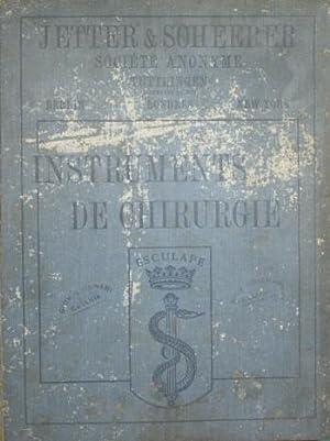 Catalogue illustré de Jetter & Scheerer société anonyme fabrique d'...