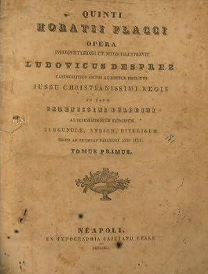 Quinti Horatii Flacci opera. Iussu christianissimi regis: Desprez Ludovicus