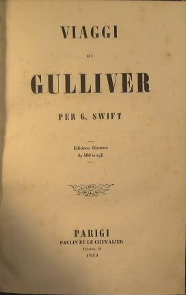 Viaggi di Gulliver: Swift Gionatan