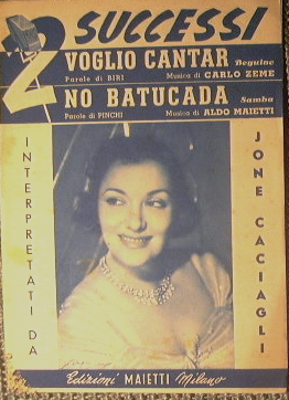 Voglio Cantar ( beguine ) - No: AA.VV.