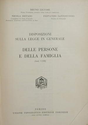 Commentario del Codice Civile. Libro I, tomo: Liguori Bruno -