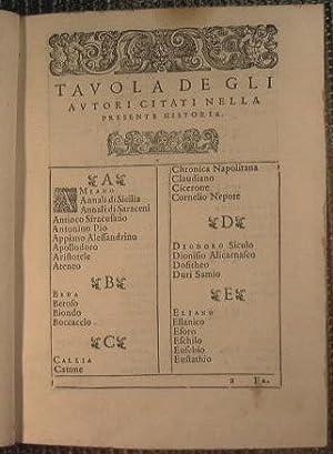 Le due deche dell'historia di Sicilia, del R.P.M. Tomaso Fazello, siciliano, dell'Ordine ...