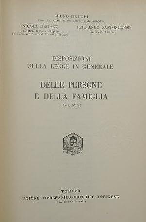 Commentario del Codice Civile. Libro I, Vol.: Liguori Bruno -