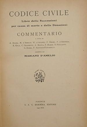 Codice Civile. Libro delle successioni per causa: AA.VV.