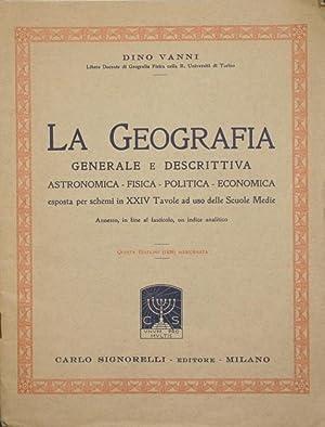 La geografia: Vanni Dino