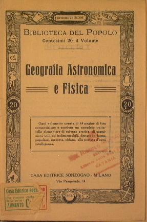Geografia Astronomica e Fisica