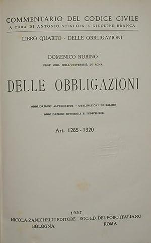 Commentario del codice civile. Libro IV -: Rubino Domenico