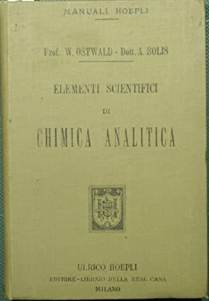 Elementi scientifici di chimica analitica
