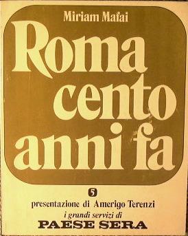 Roma cento anni fa: Mafai, M.