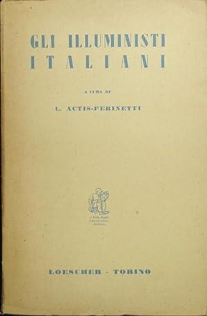 Gli illuministi italiani: AA.VV.