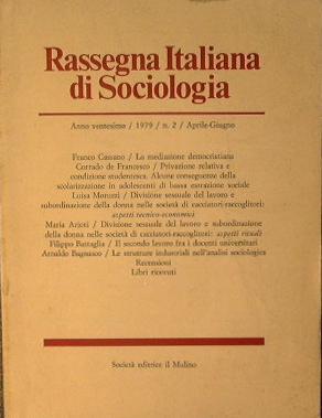 Rassegna Italiana di Sociologia: AA.VV.