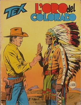 Tex n. 201 - l'oro del colorado