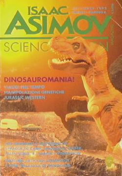 Science fiction magazine: Asimov Isaac