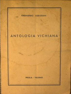 Antologia Vichiana: Albeggiani Ferdinando