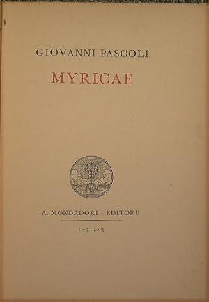 Myricae: Pascoli Giovanni