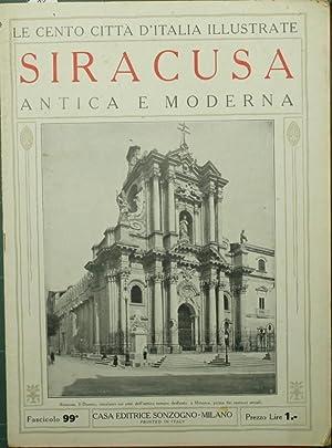 Le cento città d'Italia illustrate. Siracusa antica: Anonimo