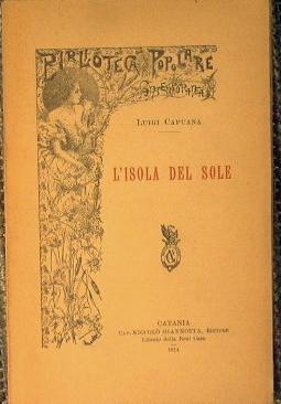L'isola del sole: Capuana Luigi