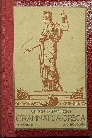 Grammatica della lingua greca: Puntoni Vittorio