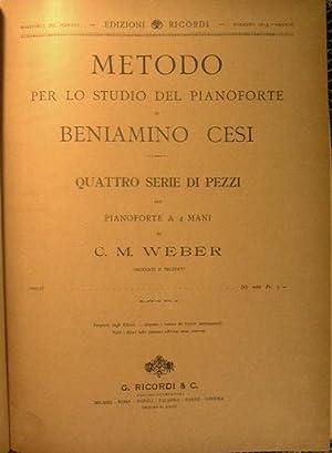 Metodo per lo studio del pianoforte. Quattro: Cesi Beniamino