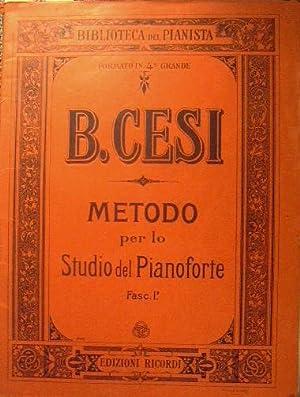 Metodo per lo Studio del Pianoforte: Cesi Beniamino