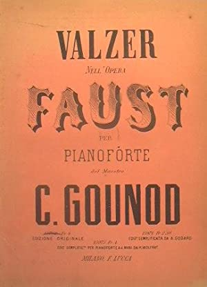 Faust ( walzer ): Gounod Carlo