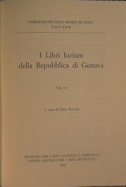 I Libri Iurium della Repubblica di Genova: AA.VV.