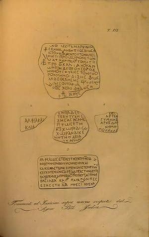 Le antichità di Acre scoperte, descritte ed illustrate dal barone Gabriele judica regio custode ...