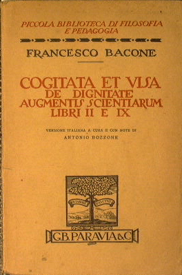 Cogitata et visa: Bacone Francesco